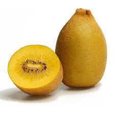 Gold kiwi fruit is a cross between…