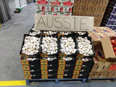 Aussie Garlic now in season; Beans back on
