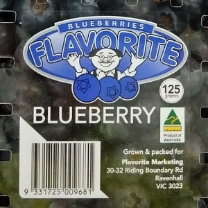 Blueberry Special: 2 for $7; 3 for $10