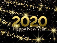 Happy New Year; 2020 start date